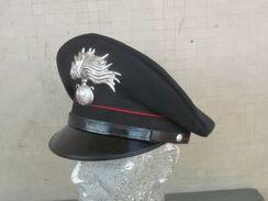 Berretto Visiera Di Fornitura Anni '2000 Carabinieri Originale Completo Tg. 57 - Polizia