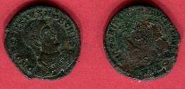 DECENCE      LYON (C 33  RIC  129  ) TB 15 - 7. L'Empire Chrétien (307 à 363)