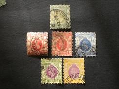 Protectorato Hong Kong, China CHINA 保護國英文中國香港 HONG KONG 1907 King Edward VII - 1921 -1926 King George V - Hong Kong (...-1997)