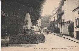 BARBEZIEUX  Le Monument Aux Mobiles (1870) - Autres Communes