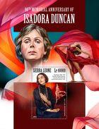 SIERRA LEONE 2017 - Paul Swan: I. Duncan S/S. Official Issue. - Moderne