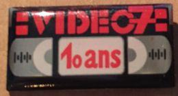 VIDEO 7 - 10 ANS - K7 - CASSETTE VHS      -    (19) - Medias