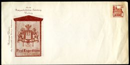 Bund PU25 B2/004a Privat-Umschlag POSTHAUSSCHILD HAMBURG 1965 NGK 6,00 € - Post