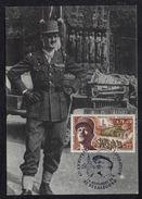 GENERAL LECLERC - MILITARIA - WWII / 1984 CARTE MAXIMUM LIBERATION DE STRASBOURG (ref LE1926) - Militaria