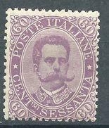 Italia 1889 Umberto I 60 C MNH** - Ungebraucht