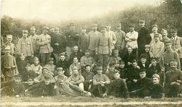 MILITARIA - GROUPE DE MILITAIRES DE DIVERS PAYS CARTE PHOTO - Guerre 1914-18