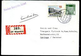 Bund PU31 A1/002 Privat-Umschlag FIRMENWASSERZEICHEN Gebraucht 1968 NGK 15,00 € - Sobres Privados - Usados