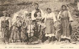 Cpa Macedoine Monastir Famille - Mazedonien