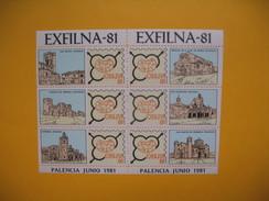 Bloc Feuillet   Exfilna - 81 Palencia Junio 1981  à Voir - Blocs & Feuillets