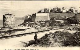 CORSE - CALVI - 1916 - La Vieille Tour (de Sel) - Calvi