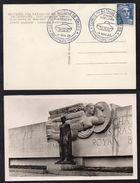 LIBERATION - GENERAL LECLERC - 2° DB  / 1950 DOMPAIRE OBLITERATION TEMPORAIRE SUR CARTE POSTALE ILLUSTREE (ref LE1931) - Militaria