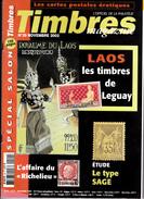 Timbres Magazine N.29 Novembre 2002,Cp Erotique,Laos,Sage,Richelieu Marine,Ile De Robinson,Uruguay,Singapour,Air France - Tijdschriften: Abonnementen
