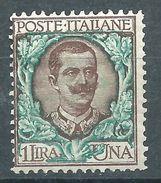 Italia 1901 Floreale 1 L MNH** - 1900-44 Victor Emmanuel III