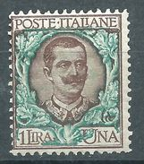Italia 1901 Floreale 1 L MNH** - Nuovi