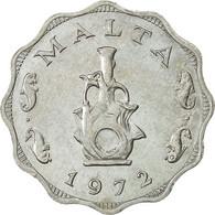 Malte, 5 Mils, 1972, British Royal Mint, SPL, Aluminium, KM:7 - Malta