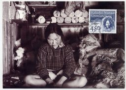 GREENLAND 1996 Europa: Famous Women On Maximum Card.  Michel 293 - Maximum Cards