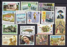 British Virgin Islands 16 MNH Stamps, Face Value $ 11 - British Virgin Islands