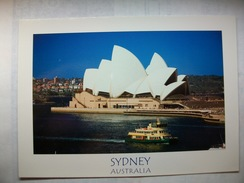 Carte Postale Australie Sydney  (Couleur Circulée ) - Sydney