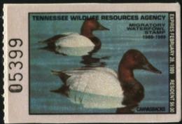 TENNESSEE 1988 USA State Duck Ducks Birds Fauna MNH - Ducks