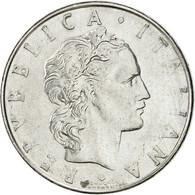 Italie, 50 Lire, 1979, Rome, TTB+, Stainless Steel, KM:95.1 - 1946-… : Republic