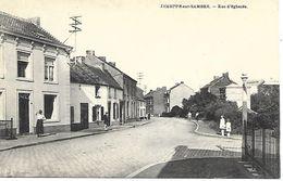 CPA / AK / PK   -  JEMEPPE SUR SAMBRE  Rue D'Éghezée - Jemeppe-sur-Sambre