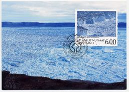 GREENLAND 2005 UNESCO World Heritage On Maximum Card.  Michel 439 - Maximum Cards