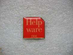 Pin's IBM, Help Ware - Informatique