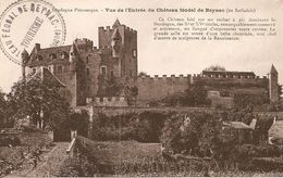 24. CPA. Dordogne. Beynac. Vue De L'entrée Du Château Féodal De Beynac - Other Municipalities