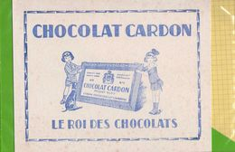 BUVARD : Chocolat CARDON Cambrai - Cocoa & Chocolat