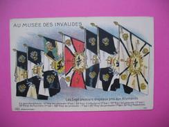 """CPA  Au Musée Des Invalides """" Les 7 Premiers Drapeaux Pris Aux Allemands """" - Guerres - Autres"""