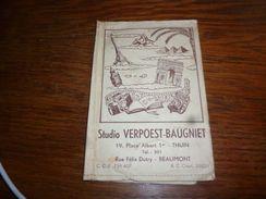 Pochette Photographique    Photo Verpoest Baugniet Thuin Beaumont - Photographie