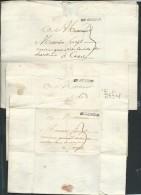 Meme Archive , Lot De 4 Lettres De Bergue 1771 Et 1772 Adressées à Cortyl De Cassel + Divers   Aoa 125 - Marcophilie (Lettres)