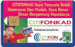 Malaysia - CITIFON - Citifonkad Advert. - Chip 5RM, 1996, Used - Malaysia