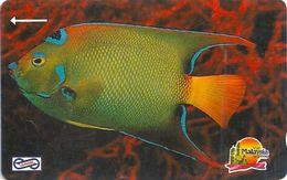 Malaysia (Uniphonekad) - Blue Fish, 16MSAA, 1992, 2.600.000ex, Used - Malaysia