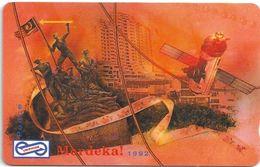 Malaysia (Uniphonekad) - Independence 3/4 - Merdeka - 27MSAC - 1992, 70.000ex, Used - Malaysia