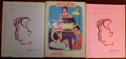 SUPER LOT 3 PROTEGE-CAHIERS + 10 BUVARDS NEUFS- AVEC PUB- TOUS DIFFÉRENTS- 2 SCANS - Buvards, Protège-cahiers Illustrés