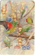Malaysia (Uniphonekad) - Lorikeet, Birds, 12MSAA, 1992, 184.000ex, Used - Malaysia