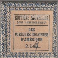 1 Film Fixe LES VIEILLES COLONIES D AMERIQUE (ETAT TTB ) - Bobines De Films: 35mm - 16mm - 9,5+8+S8mm