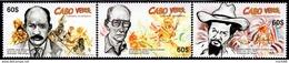 Cape Verde - 2014 - Traditional Festivals And Carnivals - Mint Stamp Set - Cape Verde
