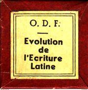 1 Film Fixe EVOLUTION DE L ECRITURE LATINE (ETAT TTB ) - Bobines De Films: 35mm - 16mm - 9,5+8+S8mm