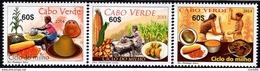 Cape Verde - 2014 - Traditional Corn Dishes - Mint Stamp Set - Cape Verde