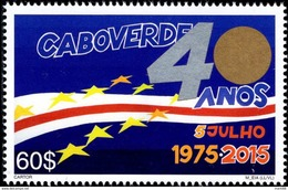 Cape Verde - 2015 - 40 Years Of Cape Verde Independence - Mint Stamp - Cape Verde