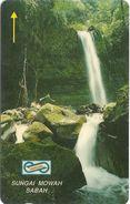 Malaysia (Uniphonekad) - Sungai Mowah Sabah - 34MSAC - 1992, 60.000ex, Used - Malaysia
