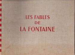Les Fables De LA FONTAINE- Illustrateur Dessins Animés G LEBRET éd Dargaud 1946 - Bücher, Zeitschriften, Comics
