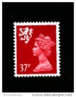GREAT BRITAIN - 1990  SCOTLAND  37 P.  MINT NH   SG  S79 - Scozia