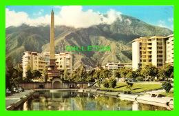 CARACAS, VENEZUELA - EL OBELISCO DE LA PLAZA ALTAMIRA  - C. A. CARACAS - - Venezuela