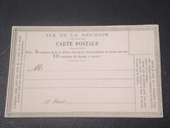 RÉUNION - Carte Précurseur Non Voyagé - L 11380 - Réunion (1852-1975)