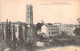 RARE CPA (Labouche) Rieux La Cathédrale Et Collège St-Cizès M1897 - Other Municipalities