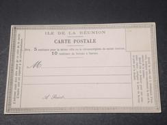 RÉUNION - Carte Précurseur Non Voyagé - L 11381 - Réunion (1852-1975)