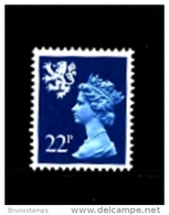 GREAT BRITAIN - 1981  SCOTLAND  22 P. MINT NH  SG  S47 - Regionali